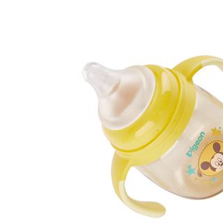 Pigeon 贝亲 迪士尼系列 DA113 儿童吸管杯 180ml 黄色 米奇宝宝