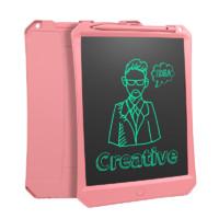 NEWYES 手写板儿童液晶画板可充电彩色屏写字板演算绘画涂鸦会电子画板10英寸 10.5英寸粉色款单色屏(电池款)