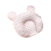 YAYINGBAO 雅婴宝 婴儿定型枕 粉白爱心