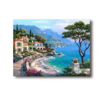 史历克 数字油画diy填色油画客厅餐厅卧室玄关现代欧式风景手工上色画11172 11172 40*50cm(已绑木框)