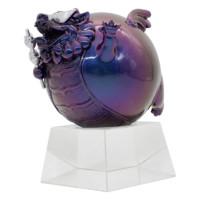 ARTMORN 墨斗鱼艺术 庄凯凯 《九少爷的串》直径8cm 玻璃钢 原创貔球形貅潮玩招财摆件 限量999版