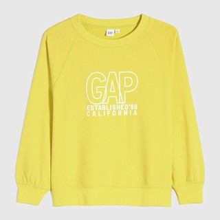 Gap 盖璞 000751237 女士印花圆领套头卫衣