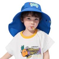 kocotree KQ19472 儿童太阳帽 蓝色恐龙 M码 经典版