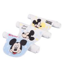 Disney baby 婴儿纱布吸汗巾 米奇 3条装