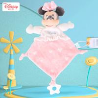 迪士尼Disney 安抚巾婴儿可入口安抚玩具宝宝睡觉睡眠神器安抚玩偶手偶礼品