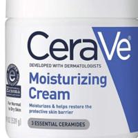 Prime会员:CeraVe 适乐肤 Moisturizing Cream 保湿修复滋润霜 539g