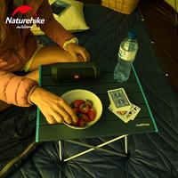 naturehike挪客户外折叠桌椅轻便携式野外铝合金餐桌露营烧烤桌子