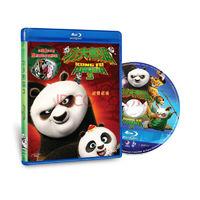 《功夫熊猫3》(獨家封面+8張萌照卡片限量版)(蓝光碟 BD50)