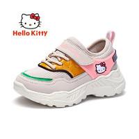 PLUS会员:Hello Kitty 凯蒂猫 女童运动鞋