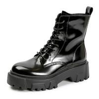 EBLAN 伊伴 女士厚底马丁靴 B20508933C01