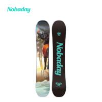NOBADAY 滑雪板2021新款男女装备公园雪地滑雪单板全能初学者专业 ANNIVERSARY 138