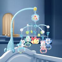 新生婴儿床铃男女宝宝玩具音乐旋转益智摇铃床头铃哄娃安抚早教