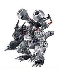 《數碼寶貝》無限龍獸 機械邪龍獸 拼裝模型
