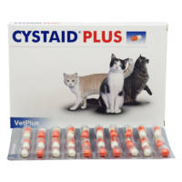 CYSTAID宠特宝利尿通猫咪利尿通尿石消咪尿通猫咪泌尿排尿困难结石尿血保健品30粒