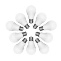 MIJIA 米家 智能LED灯泡 E27螺口 10只装