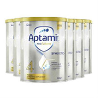 Aptamil 爱他美 白金版 婴幼儿奶粉 900g 4段 6罐包邮装