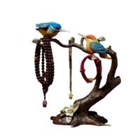 铜师傅 翠鸟首饰架