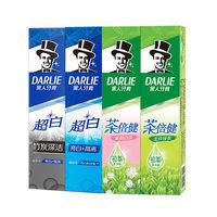DARLIE 黑人 茶倍健竹炭牙膏(双重薄荷90g*2支+白酵素40g*2 )