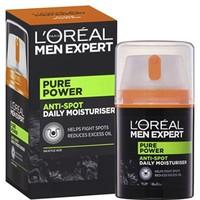 Prime会员 : L'OREAL PARIS 巴黎欧莱雅 Men Expert Pure Power 男士淡斑保湿霜 50ml