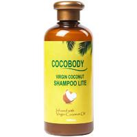菲律宾cocobody椰子油洗发水无硅油控油蓬松洗头膏女学生孕妇专用 清香300ML