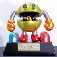 Prime会员 : BANDAI 万代 超合金吃豆人 鬼面符号 40周纪念可动手办