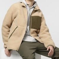 SCALER 思凯乐 F5212506 情侣款羊羔绒抓绒外套