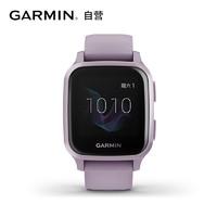 GARMIN 佳明 Venu Sq光学心率脉搏血氧智能通知支付运动GPS腕表 罗兰紫