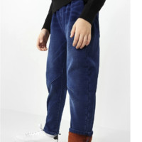 balabala 巴拉巴拉 男童加绒牛仔裤