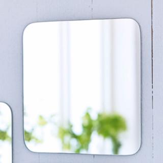 IKEA 宜家 SORLI 索尔丽 贴墙镜子 白色 4件装
