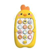 鹤吟川 儿童小黄鸡音乐玩具 普通电池+螺丝刀