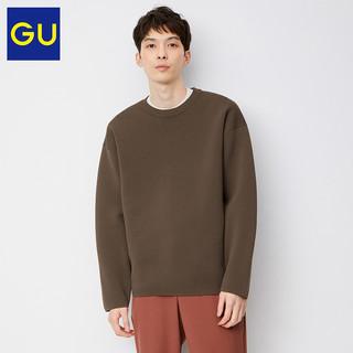 GU 极优 332432 男士罗纹圆领针织衫