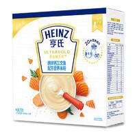 88VIP:Heinz 亨氏 超金健儿优系列 铁锌钙三文鱼米粉 4段 250g