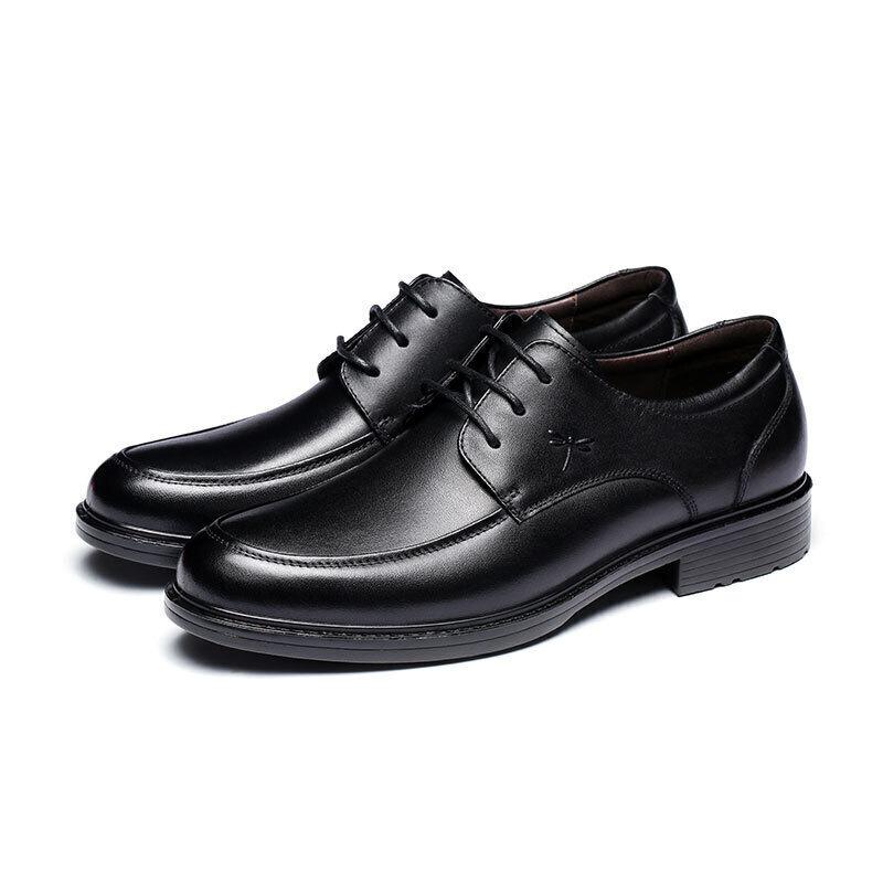 RED DRAGONFLY 红蜻蜓 男士商务休闲鞋 WTA57121 黑色 39