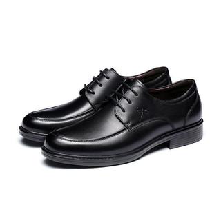 RED DRAGONFLY 红蜻蜓 男士商务休闲鞋 WTA57121 黑色 41
