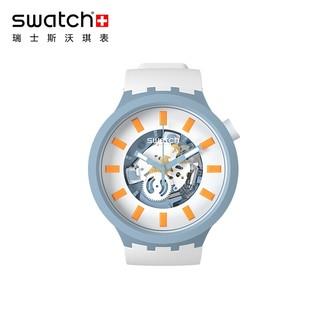 swatch 斯沃琪 SB03N101 中性款石英腕表