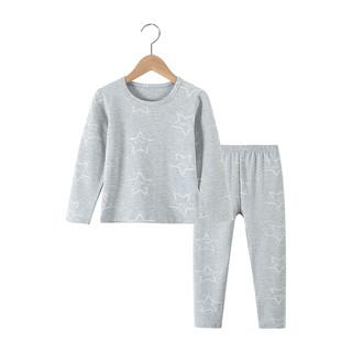 儿童纯棉内衣套装莱卡棉秋衣秋裤宝宝男女童家居服中大童保暖睡衣