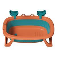BEI JESS 贝杰斯 婴幼儿洗澡折叠浴盆+玩具礼包+测温卡