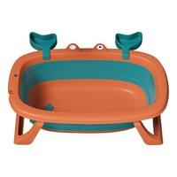 BEI JESS 贝杰斯 婴幼儿折叠浴盆 玩具礼包+测温卡