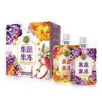 PLUS会员:徐福记 混合口味 果蔬果冻盒装  425g