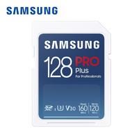 SAMSUNG 三星 MB-SD128K  Pro Plus SD存储卡 128GB