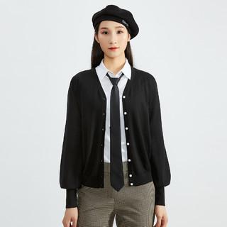 GIRDEAR 哥弟 A400486 女士羊毛针织开衫
