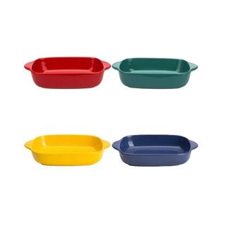 彩色陶瓷烤盤