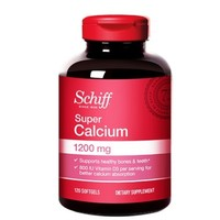 PLUS会员:Schiff 旭福 液体钙+维生素D3软胶囊 120粒