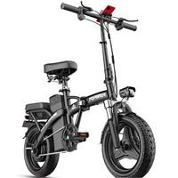 FOREVER 永久 电动自行车车 TDT025Z 48V8Ah锂电池 黑色 生活版