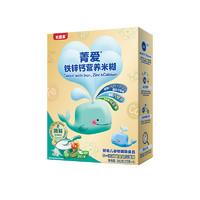 亲子会员专享:BEINGMATE 贝因美 菁爱系列 铁锌钙营养米粉 1段 200g
