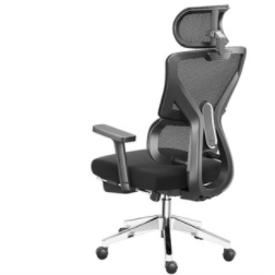 PLUS会员 : HBADA 黑白调 E202 人体工学椅 不带脚托