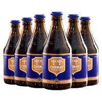 88VIP:CHIMAY 智美 蓝帽修道院啤酒 精酿  330ml*6瓶
