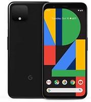 Google 谷歌 Pixel 4 解锁手机,黑色,128GB