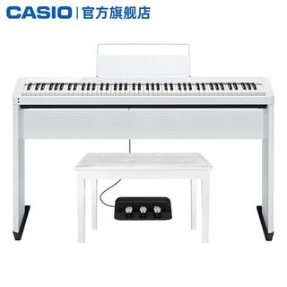 CASIO 卡西欧 电钢琴PX-S1000智能88键重锤专业演奏考级蓝牙便携数码钢琴