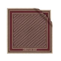 Dior 迪奥 Oblique 女士桑蚕丝丝巾 05CDO070I607_C340 深红色 70*70cm